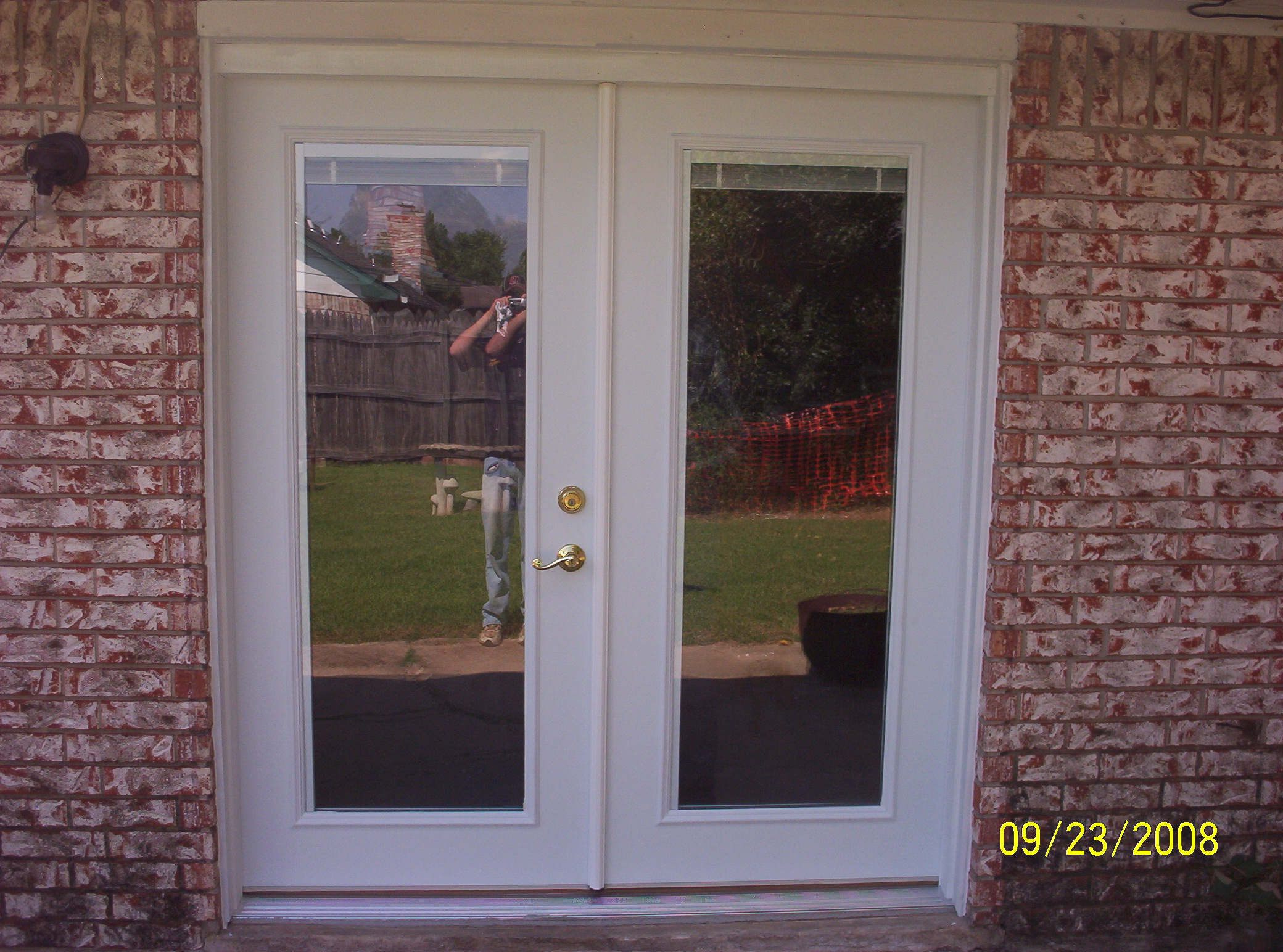 1544 #AEAD1D Entry Door & French Patio Doors save image Replacing French Doors With Windows 46972080
