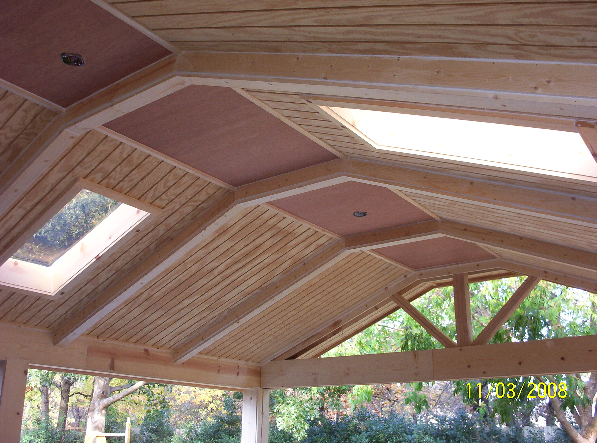 Shed roof styles for Balcony roof designs pictures