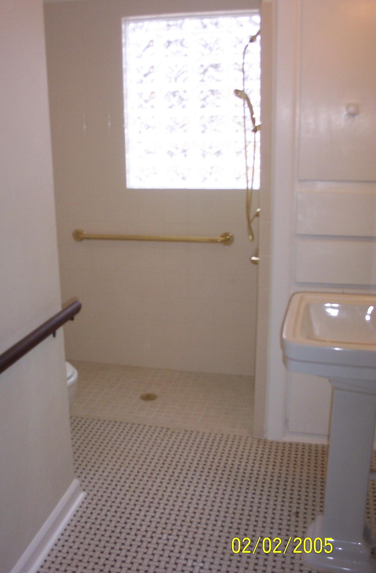 M M Construction Bathroom Bathroom Remodels Handicapped