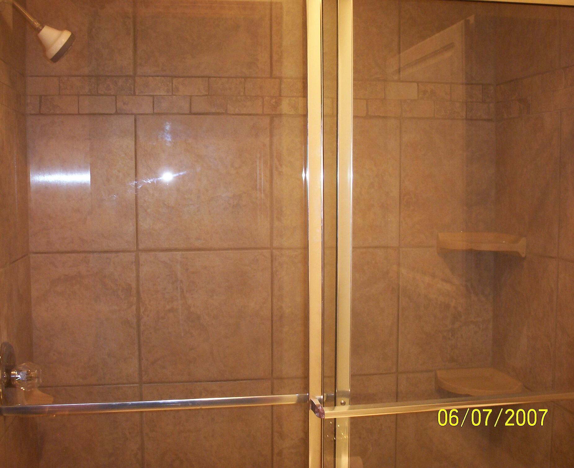 Combathroom Baths And Showers : Fiberglass Tub Shower Door with Glass